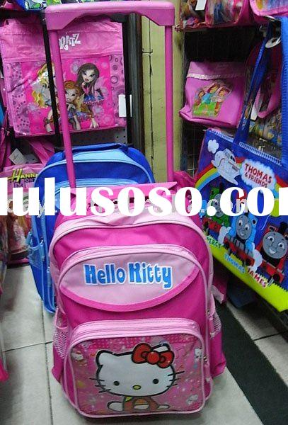 Wholesale 20x Hello Kitty Wheel School Bag Gift Mix Order Drop shipping C204