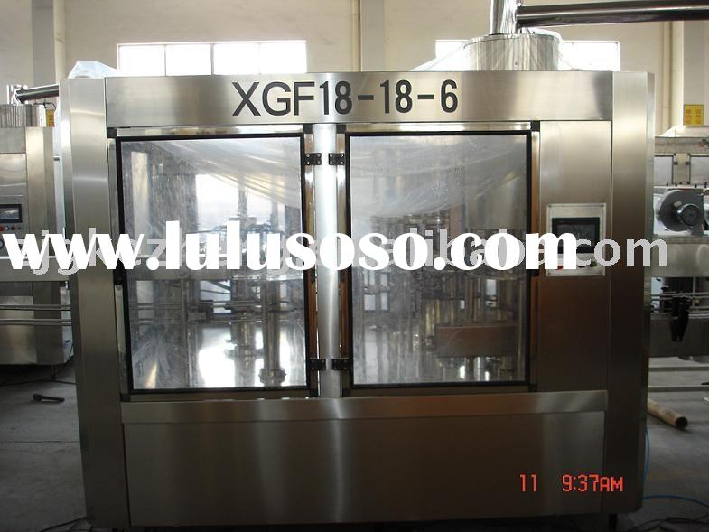 XGF model bottle mineral water plant
