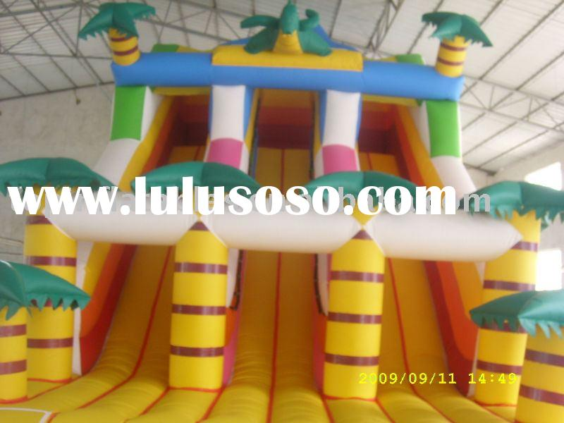 [coconut] inflatable slides