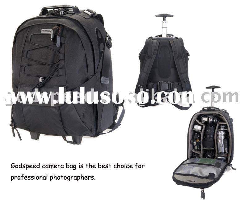 camera bag , trolley camera bag , camera backpack with trolley ,DSLR professional camera bag