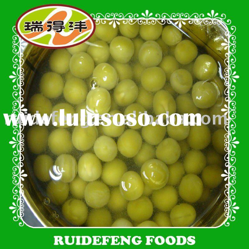 canned food green peas