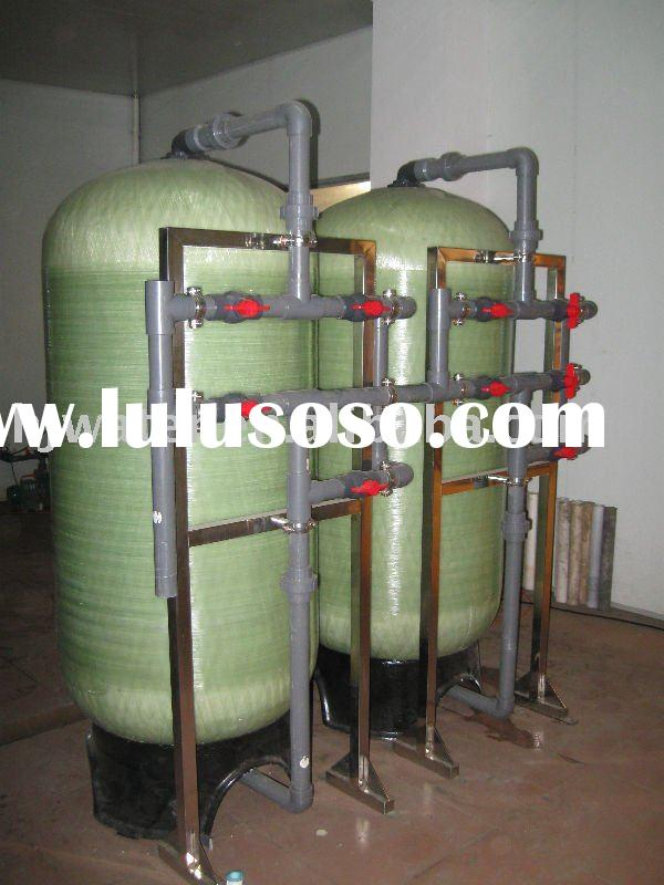 commercial water softener equipment(6000L/H water treatment)