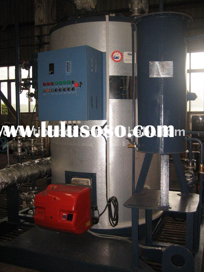 compact steam boiler system