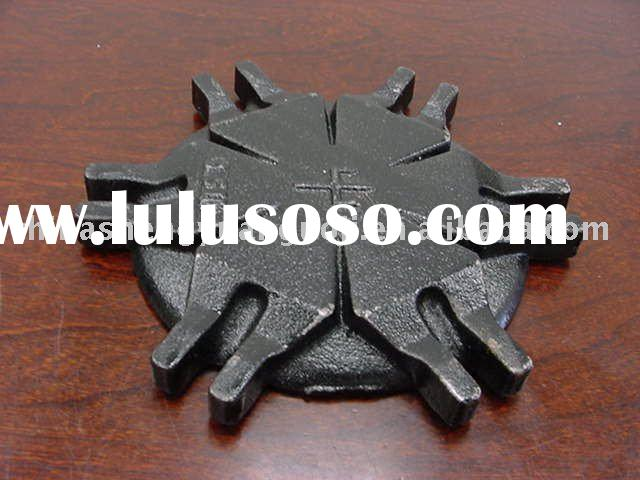 gray cast iron water meter cover for pipe fitting