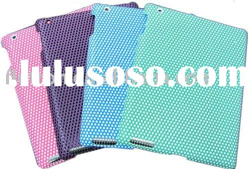 leather Hard back Case For iPad 2 2nd