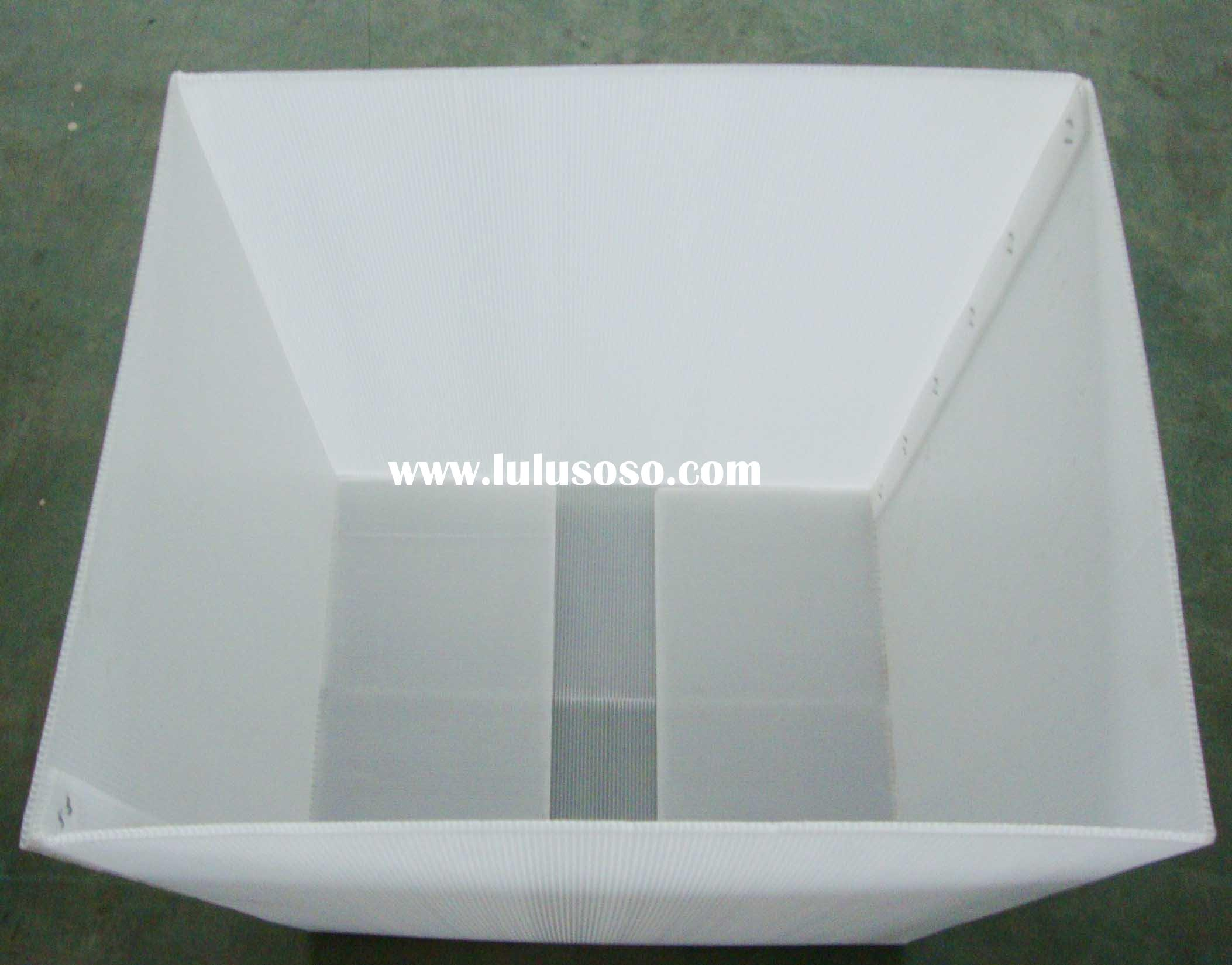 plastic water proof box without lid