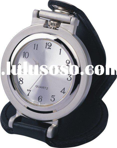 white dial and alloy case necklace clock and watch