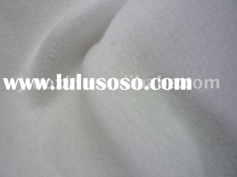 white weft suede fabric/bag lining fabric