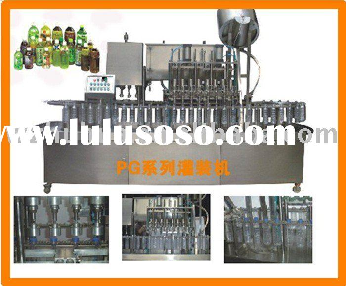 Bottled water filling and capping machine