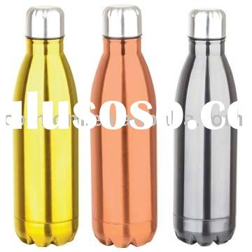 Double wall Stainless steel vacuum cola water bottle