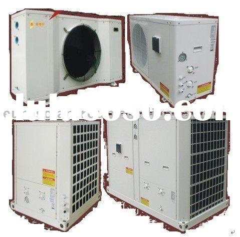 Heat pump hot water unit for business Floor Warming Facility