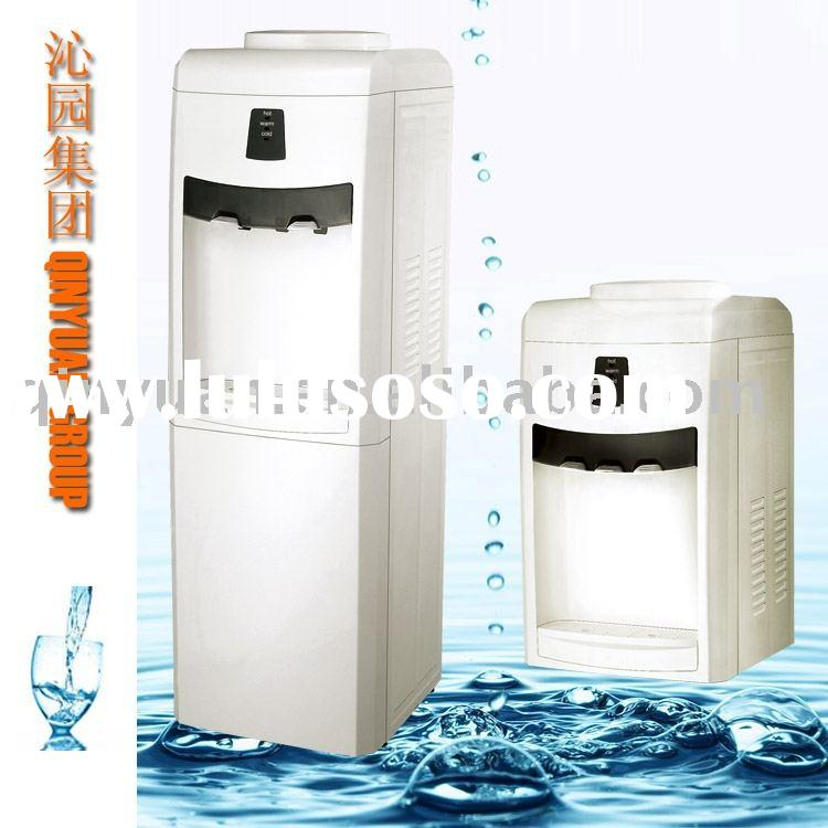 Hot cold water dispenser,home office bottled stainless steel water cooler dispenser BY82C-3