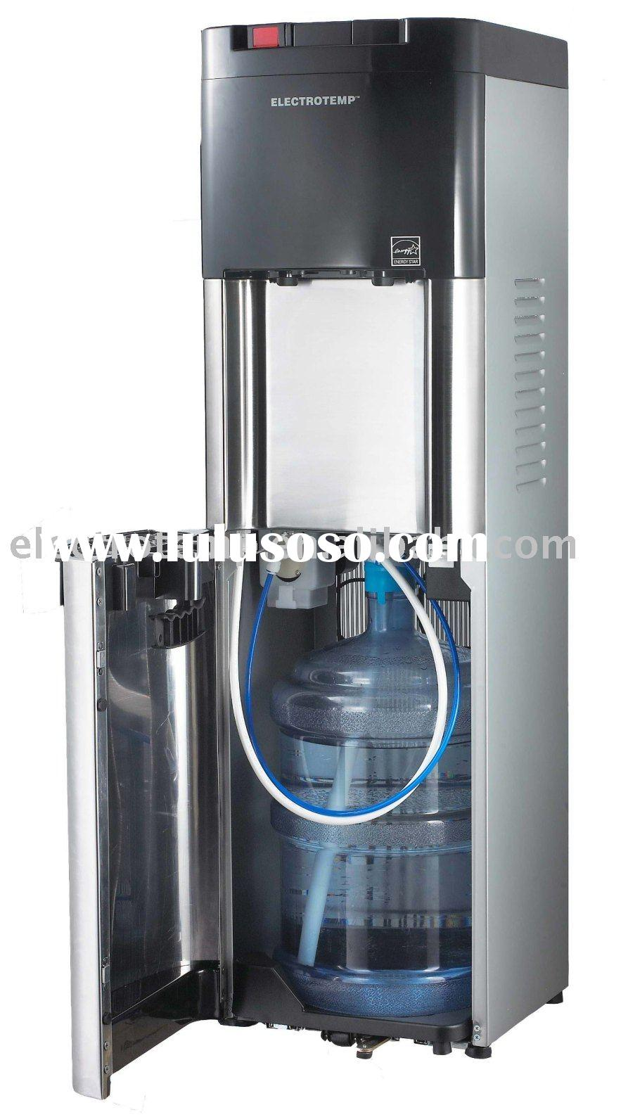 Office Grade Cold and Hot Stainless Steel Bottom Loading Water Dispenser/Water Cooler
