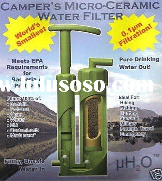 camping water bottle,water purifier filter
