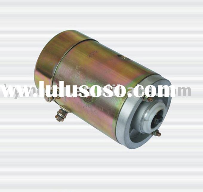12V hydraulic unit.HY61026 dc motor   oil pump dc motors