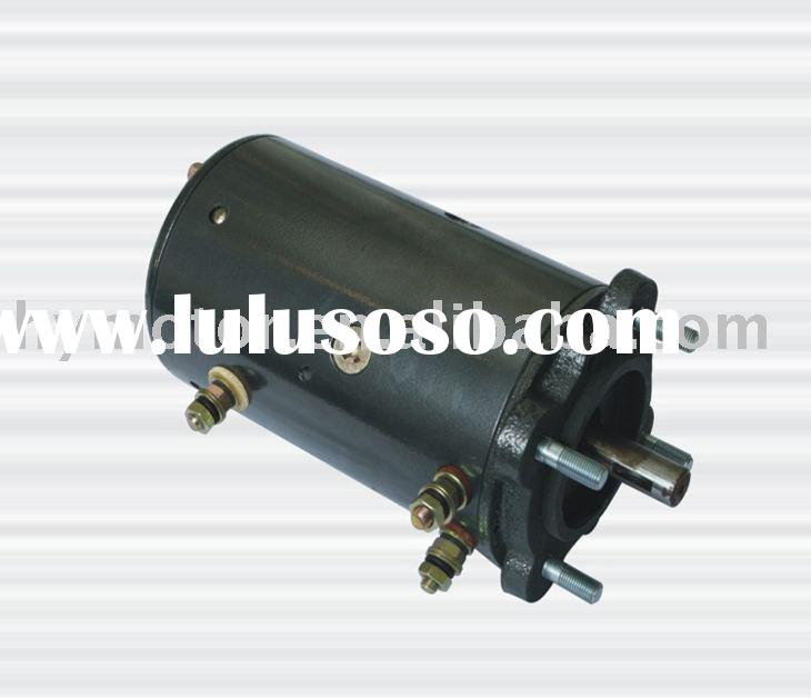 12V hydraulic unit.HY61051 dc motor  oil pump dc motors