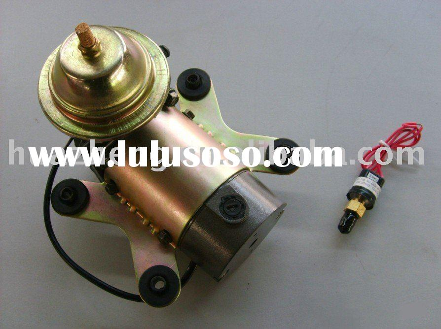 12 VOLT ELECTRIC VACUUM PUMP KIT WITH PRESSURE SWITCH