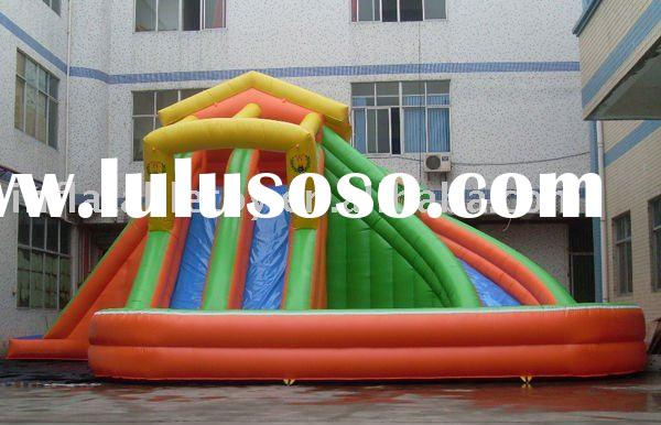 2011 hot selling inflatable water slide