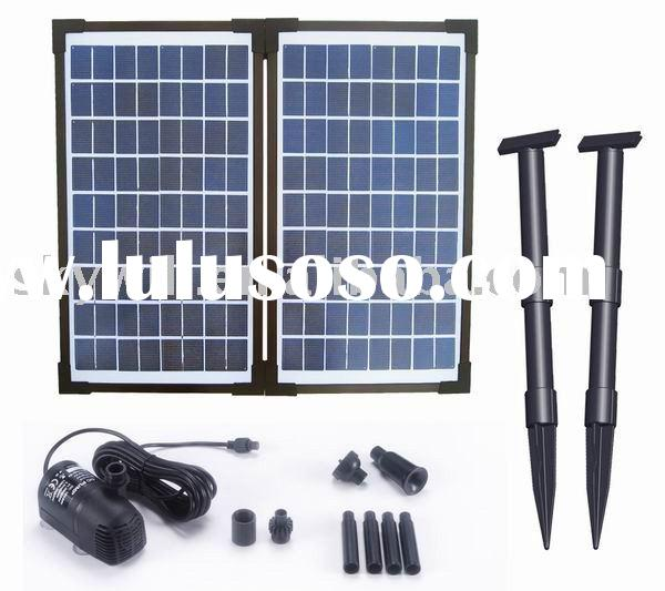 20Watts Solar Fountain Pump Kit With Brushless Motor
