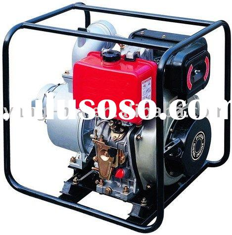 2 inch air cooled hand start portable diesel water pump