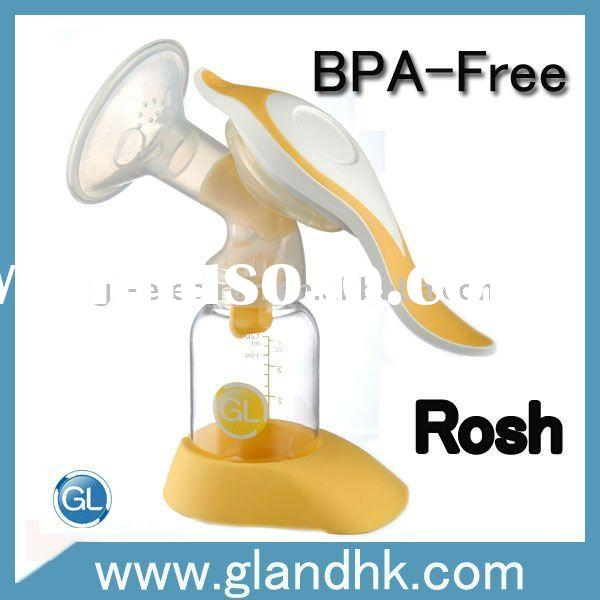 360 degree protatable breast pump