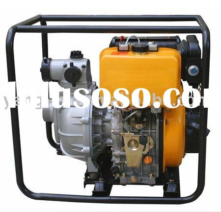 3 inch air cooled hand start portable diesel water pump