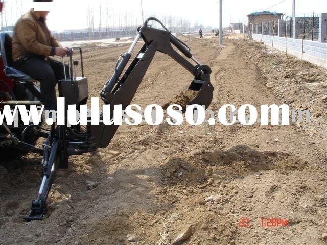 Back hoe for tractor