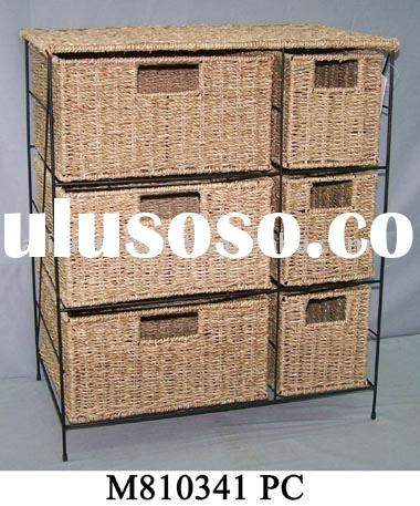 Eco-fridendly and pollution-free seagrass furniture,furniture,storage cabinet