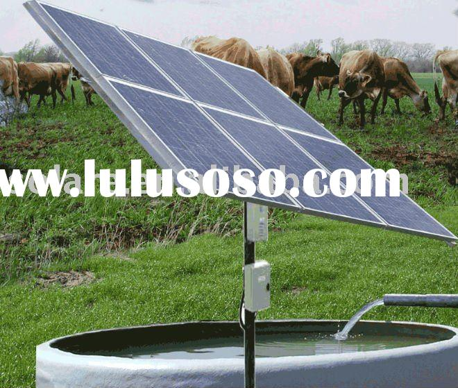 High quality solar deep well pump for farm
