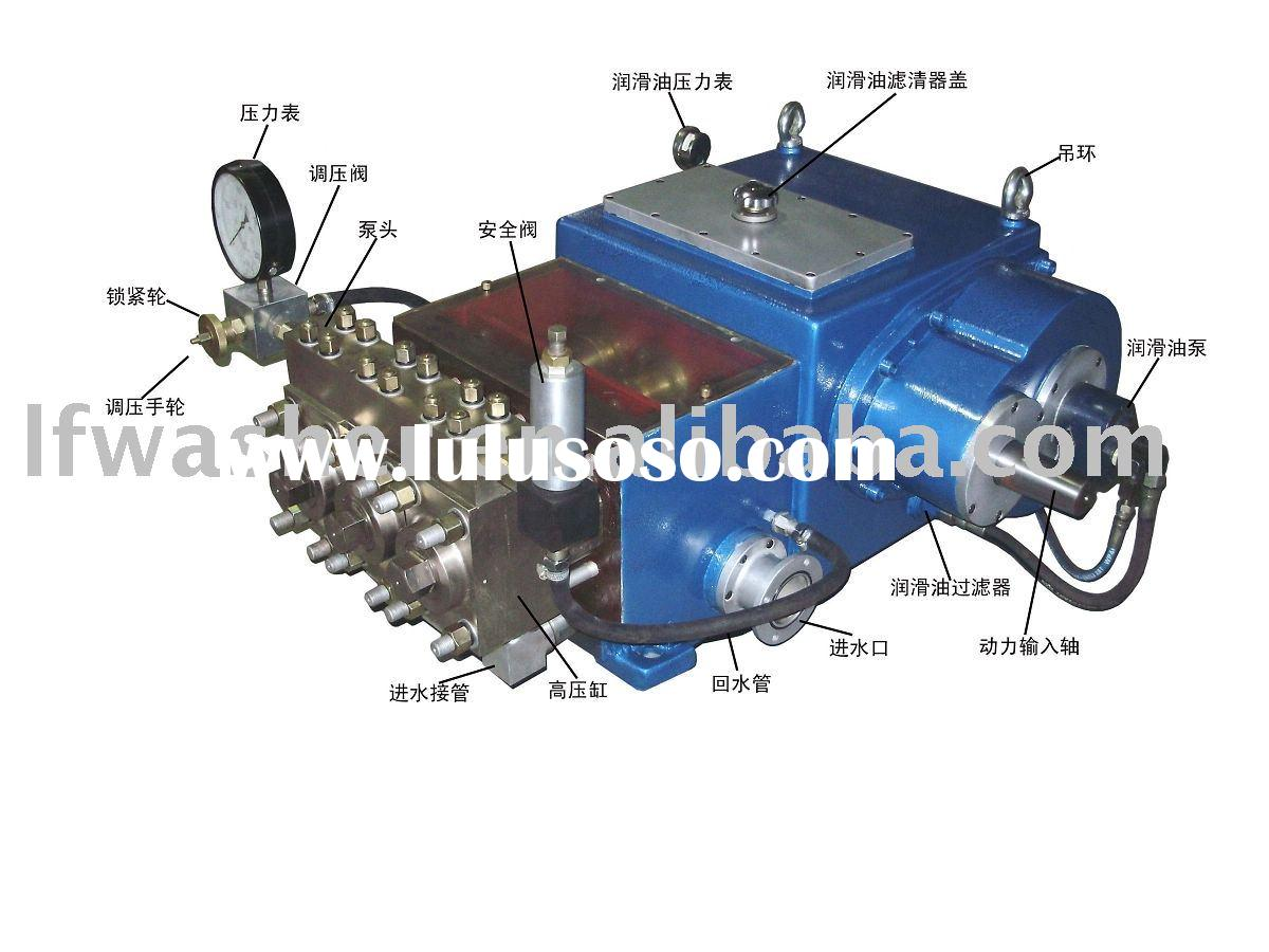 Hydraulic test pump LF-34/140, jet pump,jet,pressure pump,industrial washing machine