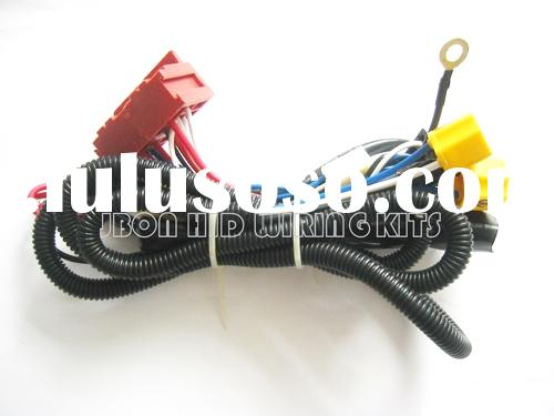 H4 Ceramic Headlight Connector  H4 Hid Wiring Harness
