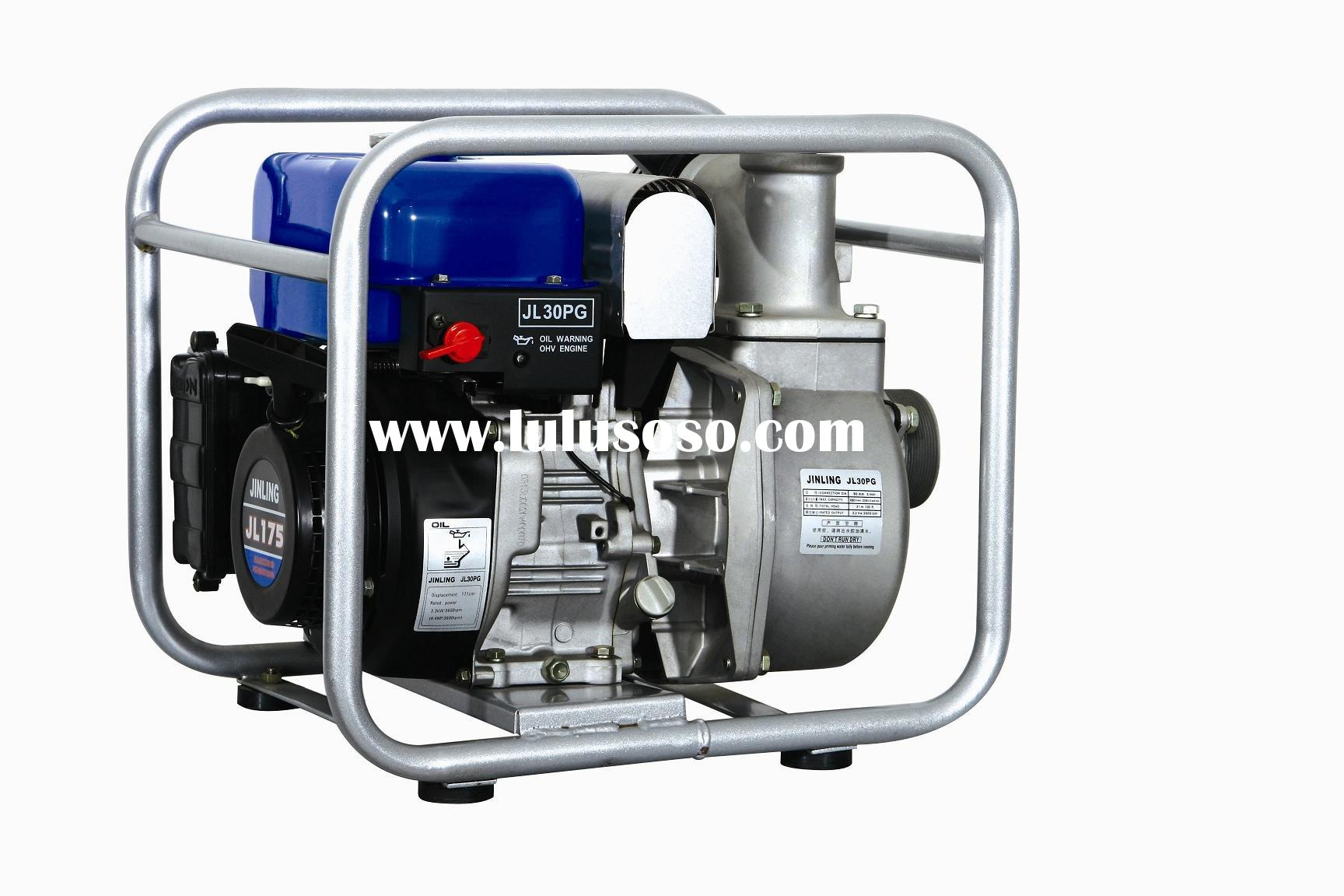 JL30PG 3 Inch Intake Gasoline Powered Portable Centrifugal Water Pump (water pump)