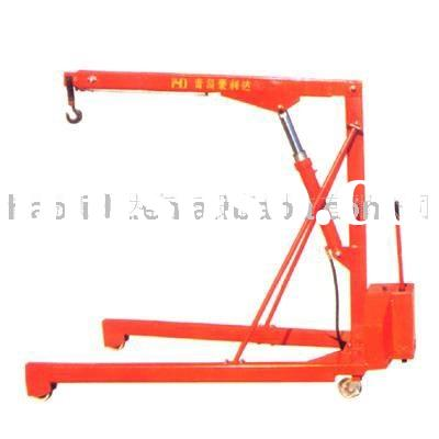 Manual Hydraulic Shop Crane