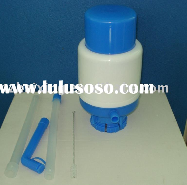 Manual water pump for 3-5 gallon bottles