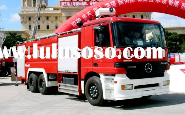 Mercedes-Benz fire truck
