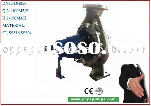 OA series stainless steel DIN 24255 /EN733 end suction centrifugal pumps