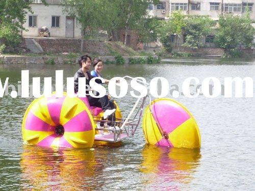 Pop Water bike, water trike with awning for 2+1 person in summer season