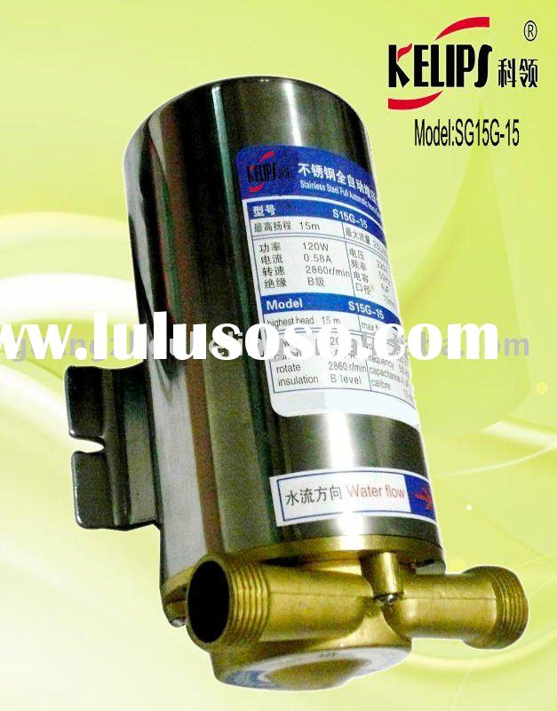 SG15G-15 Stainless Steel  Full Auto-boosting Pump