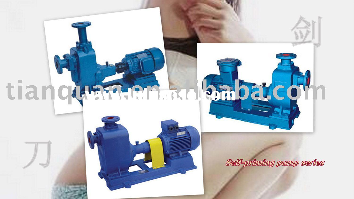 Self-priming pump (jet pump, centrifugal pump)