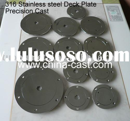 Stainless Steel  Boat Deck Plate