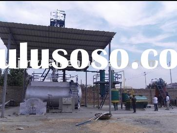 Used oil recycle equipment