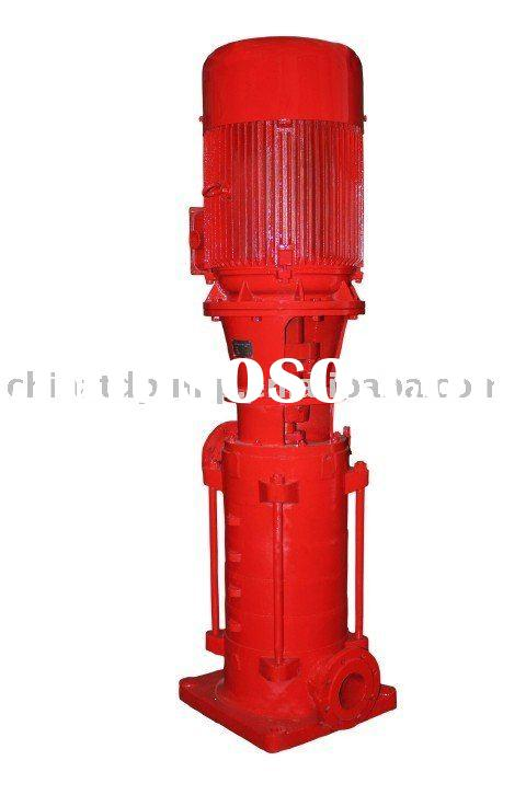 XBD vertical multi-stage centrifugal fire pump