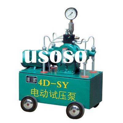 electric hydraulic test pump,electric testing pump,electric  tester ,Motor-driven pressure test pump
