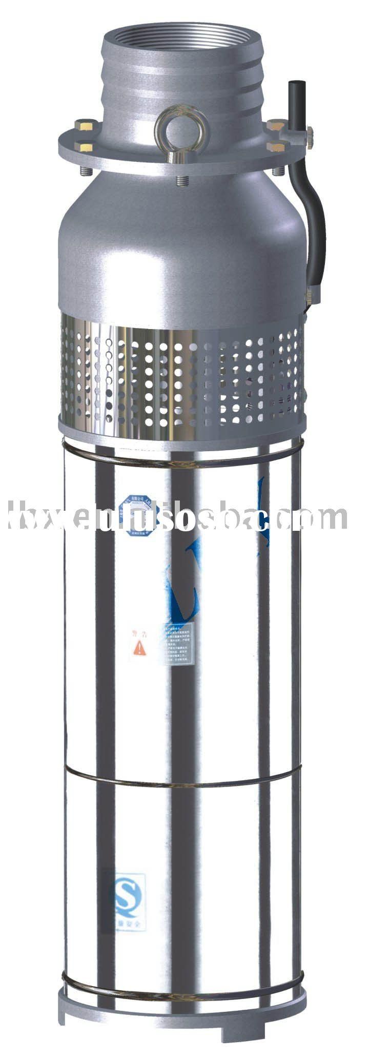 stainless steel oil-filled submersible pump
