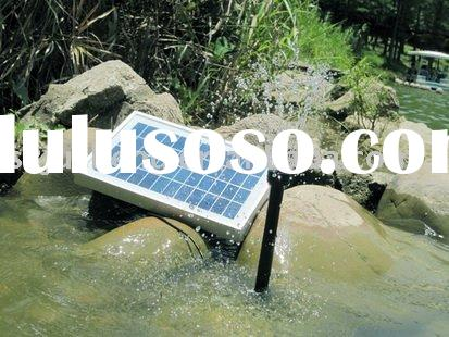 the 5W solar water pump