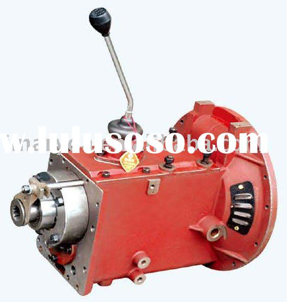 Tractor Gears Turning : Compact spinning gear box assemble for suessen system ring