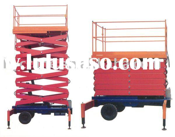 100-1000kg hydraulic trailer scissor lift
