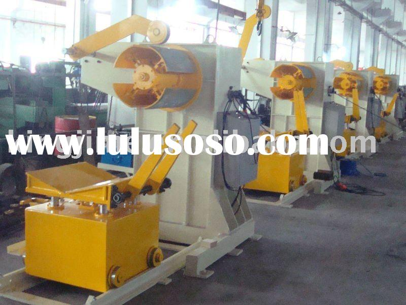 2011 new! Hot sale! MTC series hydraulic decoiler, uncoiler with coil loading car