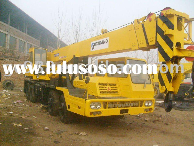 25ton used hydraulic crane for sale