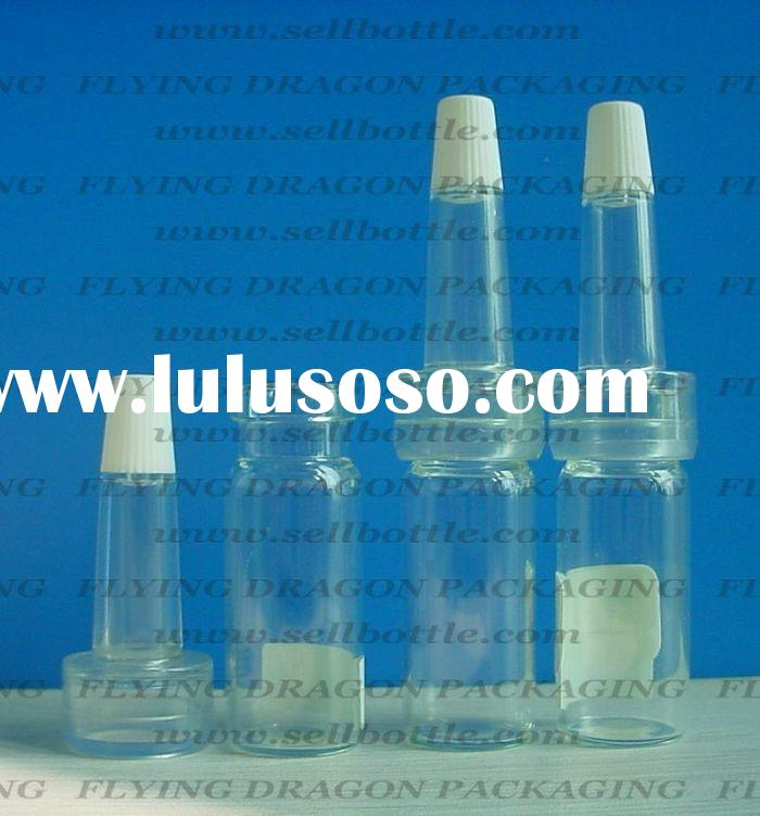 4ml Clear Pharmaceutical bottle, medicine bottle, dropper bottle
